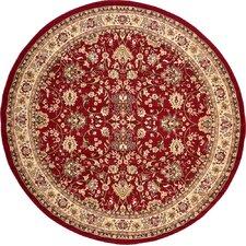 Kashan Red Area Rug