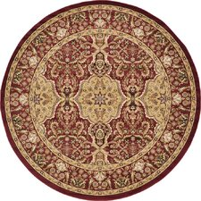 Isfahan Red Area Rug