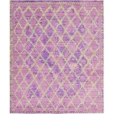 Aria Purple Area Rug