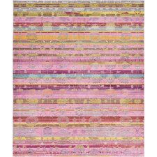 Aria Pink Area Rug