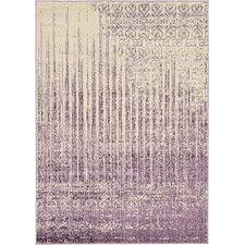 Del Mar Beige & Purple Area Rug