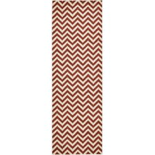 Rust Red Area Rug