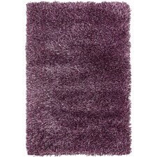 Luxe Solo Fig Purple Area Rug