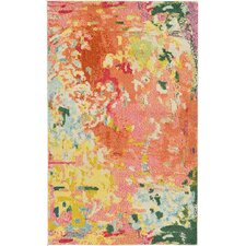 Michelle Armas Laura Pink Area Rug
