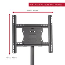 "Stationary Floor Mount for 26""- 50"" Flat Panel Screens"