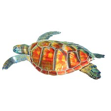 Sea Turtle Metal Wall Décor