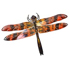 Dragonfly 3D Metal Wall Décor