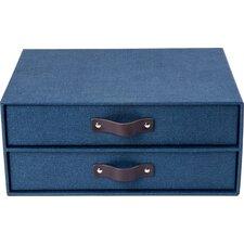 Birger 2 Drawer File Box