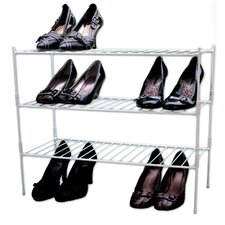 Extra Large 3-Tier Shoe Rack