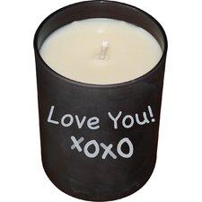 Dark Whisper Chalkboard Jar Candle