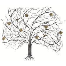 Windswept Tree Wall Décor