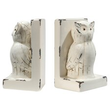 Owl Book End (Set of 2)