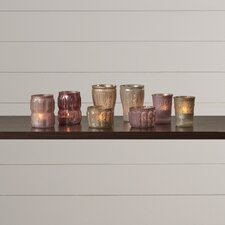 Belves 8 Piece Glass Votive Set
