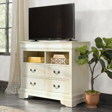 Corbeil 4 Drawer Media Chest