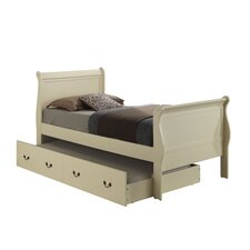 Corbeil Sleigh Bed with Trundle