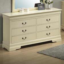 Corbeil 6 Drawer Dresser