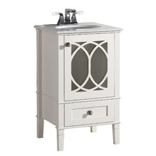 "Jusquiame 21"" Single Bathroom Vanity Set"