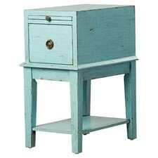 Philippine 1 Drawer End Table