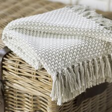 Leny Cotton Viscose Throw Blanket
