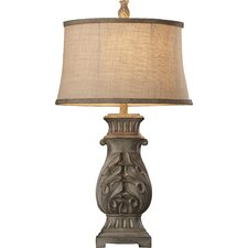 """Noyers 32"""" H Table Lamp with Oval Shade"""
