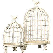 Orla 2 Piece Birdcage Set
