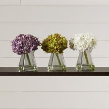 Hydrangeas in Vase (Set of 3)