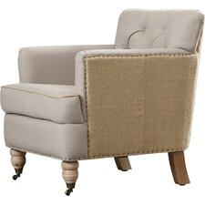 Minerve Tufted Arm Chair