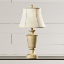"Avignon 31"" H Table Lamp with Bell Shade"