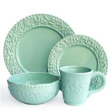 Amandine Leaf 16 Piece Dinnerware Set