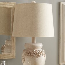 "Grenadille 25"" H Table Lamp with Empire Shade"