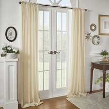 Sidonie Textured Chiffon Single Curtain Panel