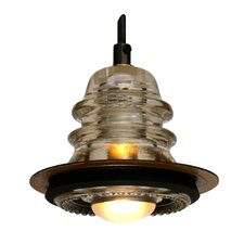 "Insulator light Pendant Metal ring 5"", 20V 40W, dimming"