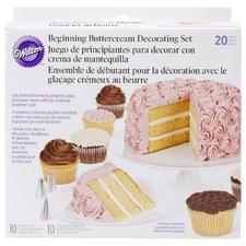 21 Piece Cake Decorating Set
