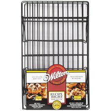 3 Peice Non-Stick Cooling Rack Set