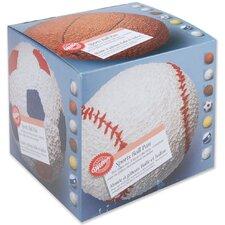 4 Piece Sports Ball Novelty Cake Pan Set
