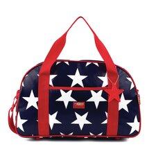 Navy Star Sleepover Bag