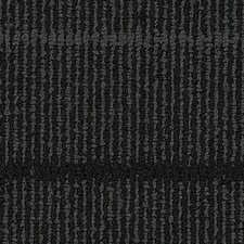 "Hollytex Modular Transit 24"" x 24"" Carpet Tile in Char"