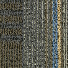 "Hollytex Modular En Route 24"" x 24"" Carpet Tile in Bus Stop"