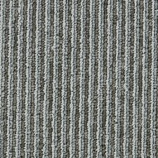 "Hollytex Modular Made To Measure 19.7"" x 19.7"" Carpet Tile in Grey Twill"