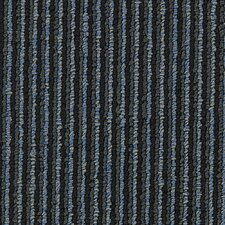 "Hollytex Modular Made To Measure 19.7"" x 19.7"" Carpet Tile in Armani Blue"