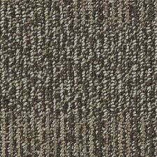 "Hollytex Modular Evoke 19.7"" x 19.7"" Carpet Tile in Sand Shower"