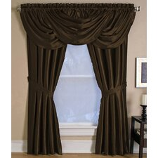 Versailles Window Single Curtain Panel