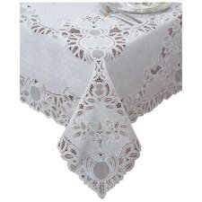 Crochet Vinyl Lace Rectangle Tablecloth