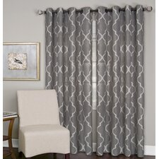 Medalia Single Window Curtain Panel