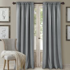 Cachet 3 in 1 Window Single Curtain Panel