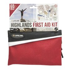 65 Piece Adventure Pack First Aid Kit