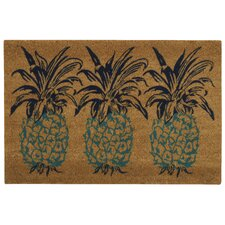 Greetings Pineapple Doormat