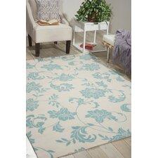 Home & Garden Ivory Indoor/Outdoor Area Rug