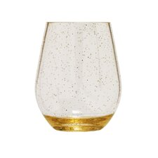 Tritan Sparkle 16 Oz... Stemless Wine Glass (Set of 4)