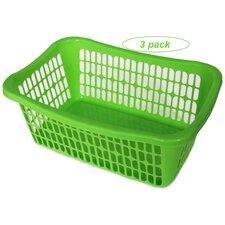 Plastic Laundry Basket (Set of 3)